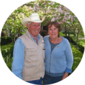 George and Kit Lee of Old Chatham Ranch