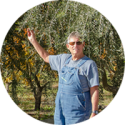 Farmer Al Courchesne of Frog Hollow Farm