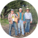 Bruce Smith, Craig Smith and Philip Langston of Lone Oak Olive Oil