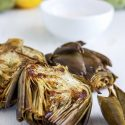 Roasted Jumbo Artichokes