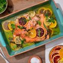 Slow-Roasted Citrus Salmon in Olive Oil